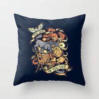 Win Or Die Throw Pillow