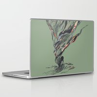 deer Laptop & iPad Skins featuring Dream Again by Huebucket