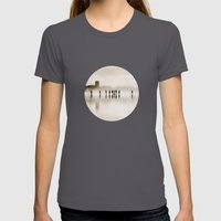 People Womens Fitted Tee Asphalt SMALL