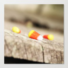 First (Candy) Corn of the Season Canvas Print