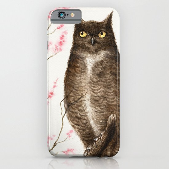 Spring Owl iPhone & iPod Case