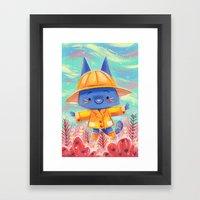 Raincoat 2 Framed Art Print