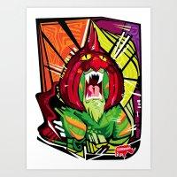 Nalubuff - Battlecat Art Print