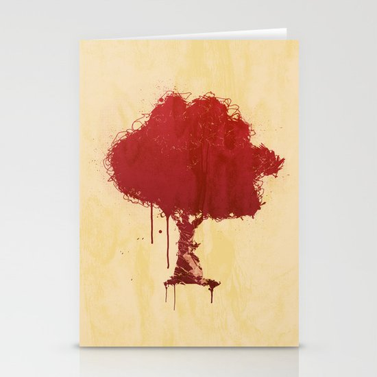s tree t Stationery Card