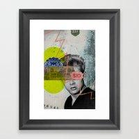 Public Figures - James Dean Framed Art Print