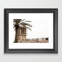 Wind Tower Framed Art Print