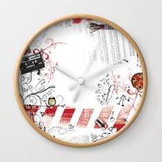 Drawing Wall Clock