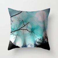 Shadows In The Night Throw Pillow