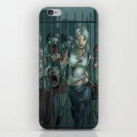 Zombie Slayer iPhone & iPod Skin