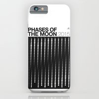 2015 Phases of the Moon Calendar iPhone 6 Slim Case