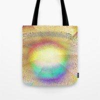 Play Of Light And Glass Tote Bag