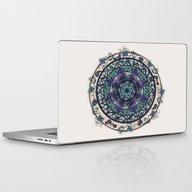 Morning Mist Mandala Laptop & iPad Skin