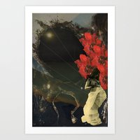 Stars And Tides Art Print