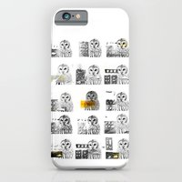 iPhone & iPod Case featuring Owls by Antonio