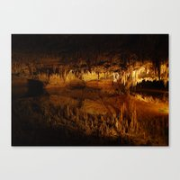 Cavern Reflection Canvas Print