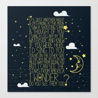 All Of The Stars  Canvas Print
