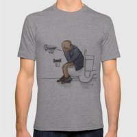 Bugger... Mens Fitted Tee Athletic Grey SMALL