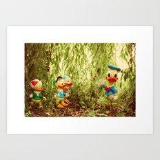 Duck Tales 2 Art Print