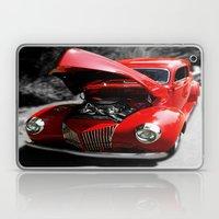 Hot Rod Red Laptop & iPad Skin