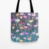 After Dark Flamingo Part… Tote Bag