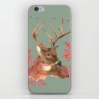 Forest Royalty, Stag, De… iPhone & iPod Skin