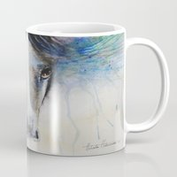 Horse Watercolor Paintin… Mug