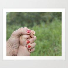 manos Art Print