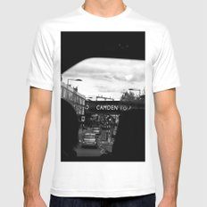 Candem Mens Fitted Tee White SMALL