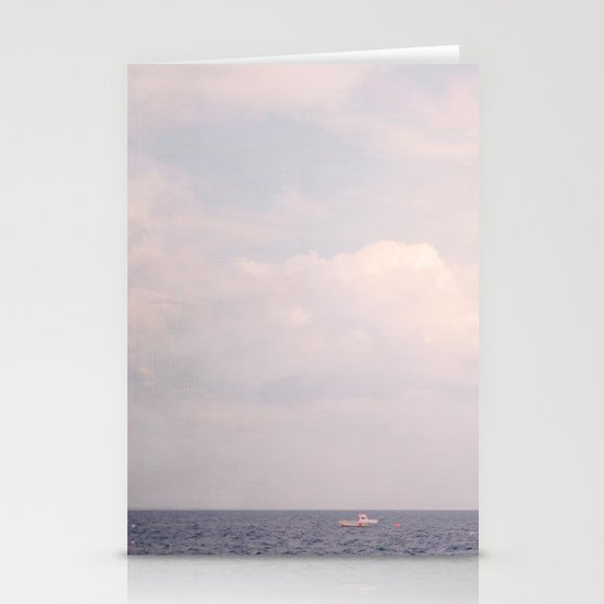 alone in the world Stationery Card