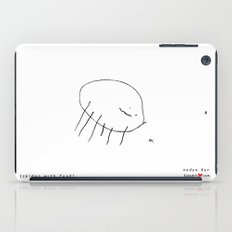 [spider with food] - nadya 3 yr iPad Case