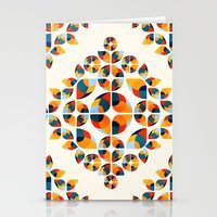 Fantasy Garden Pattern V Stationery Cards
