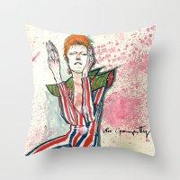 Schiele's Bowie Throw Pillow