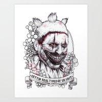 Xoxo Twisty Art Print