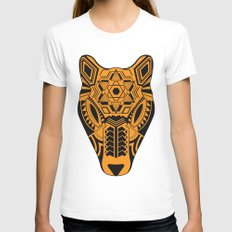 jaguar Womens Fitted Tee White SMALL