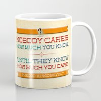 How Much You Care Mug