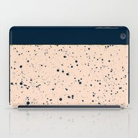 XVI - Dark Blue iPad Case