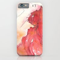 iPhone & iPod Case featuring red head by Taylor Jean