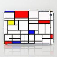 Mondrian inspired iPad Case