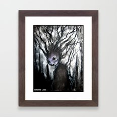 Oddity: Tree Girl Framed Art Print