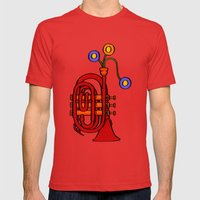 Happy To See My Pocket T… Mens Fitted Tee Red SMALL