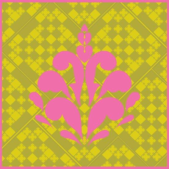 Decorative motif Art Print