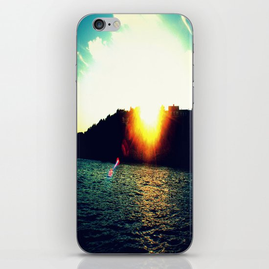 When The Light Shines Through iPhone & iPod Skin