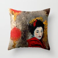 TOKYO SAD SONG Throw Pillow