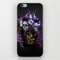 Willow Blossom Muertita iPhone & iPod Skin
