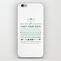 Irish Blessing iPhone & iPod Skin