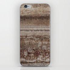 Brown Lace iPhone & iPod Skin