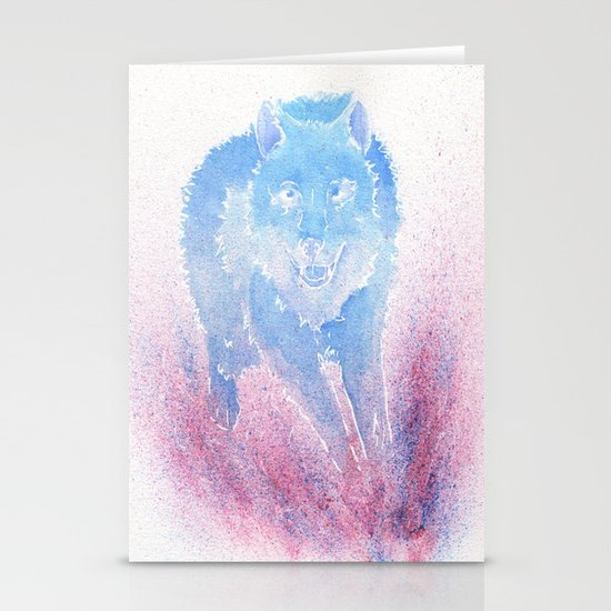 Wild Run Stationery Card