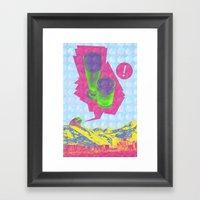 Spring Break: A Visual J… Framed Art Print
