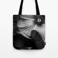 Dramatic Black And White… Tote Bag