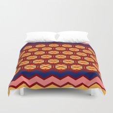 wayuu  pattern 2 Duvet Cover